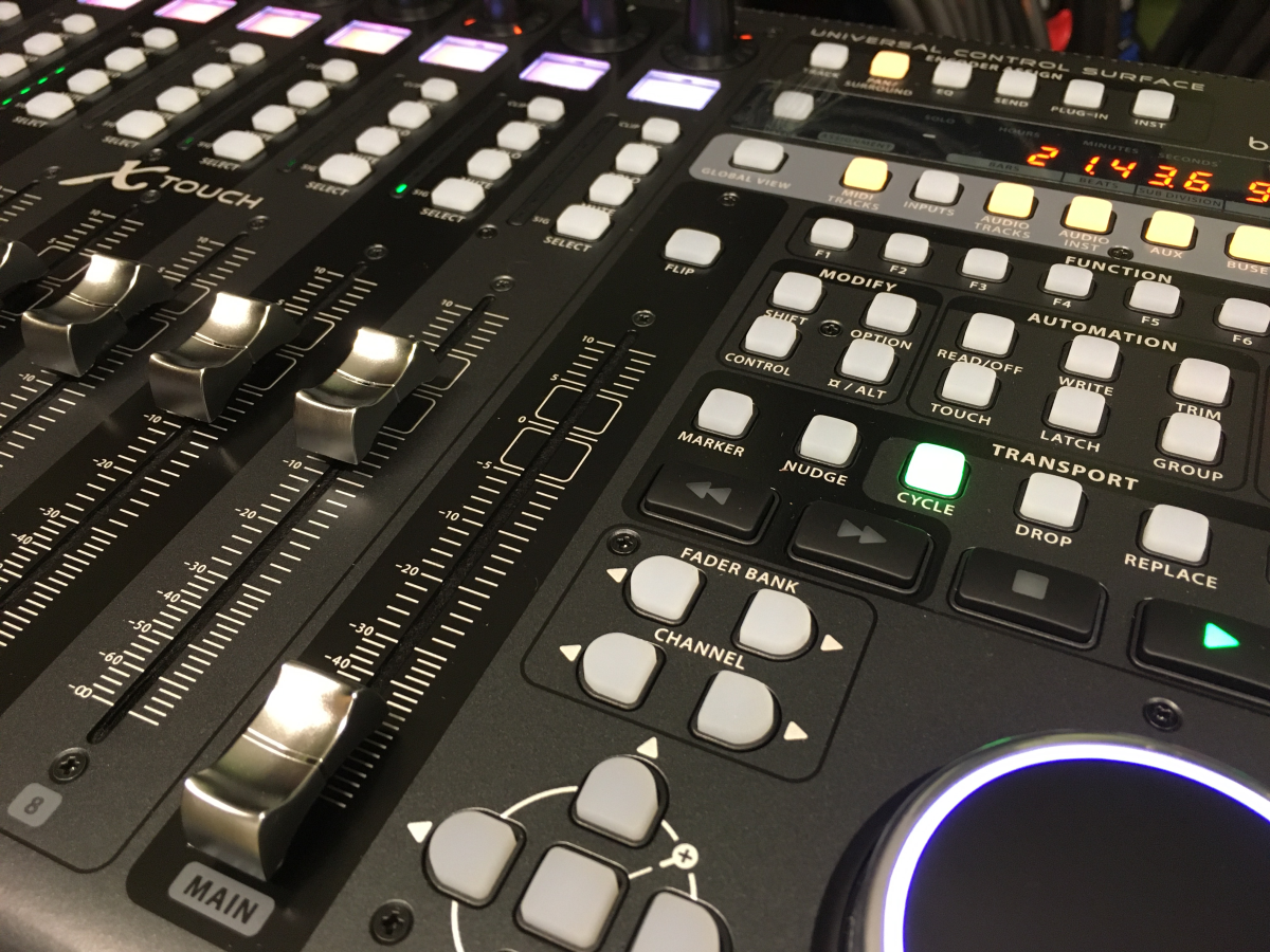 Behringer X-Touch - how to turn your studio into an effective workspace