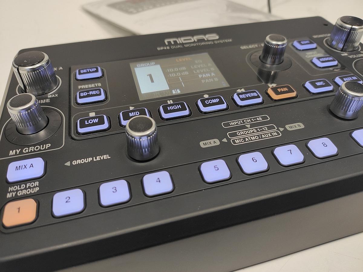 Midas DP48 monitormikser - kellele ja milleks?