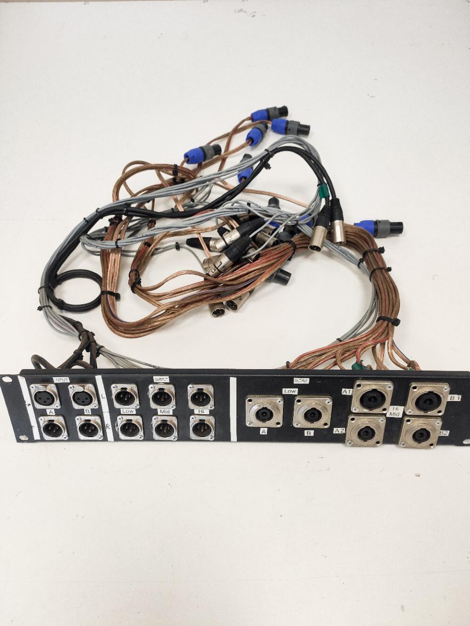 I/O panel for amprack 2U