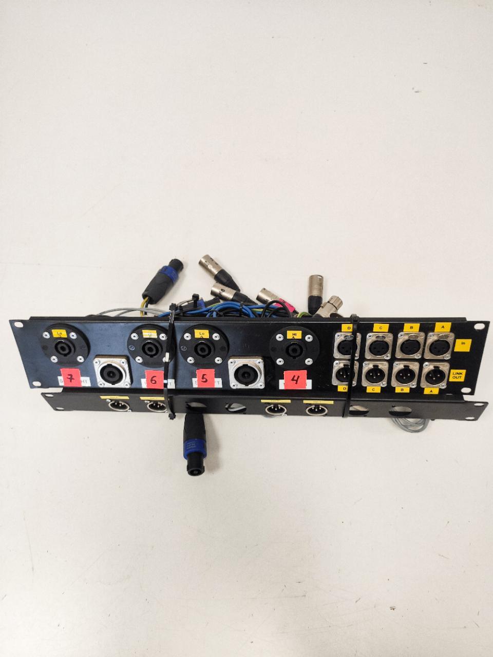 I/O panel for amprack