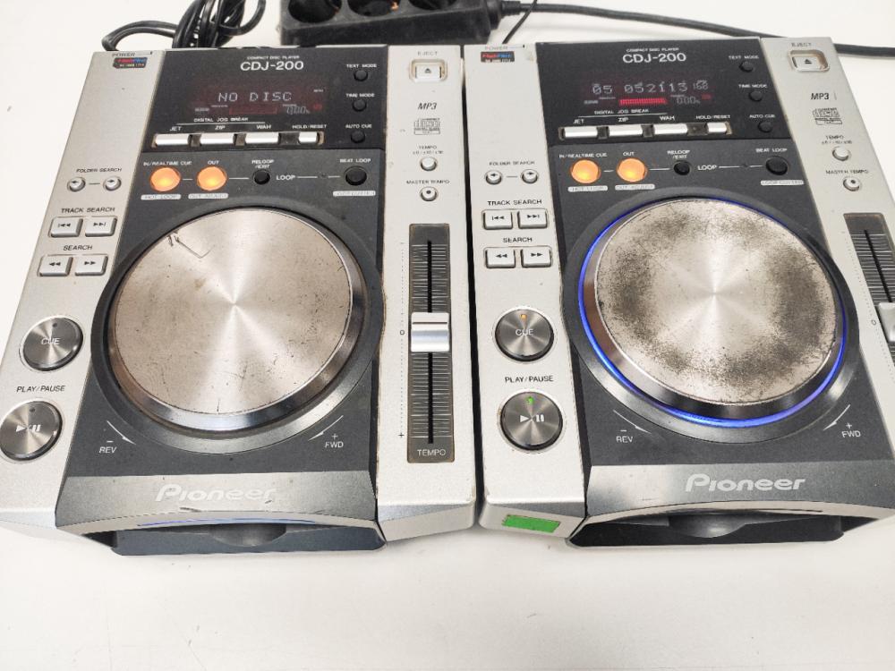 Pioneer CDJ200 set