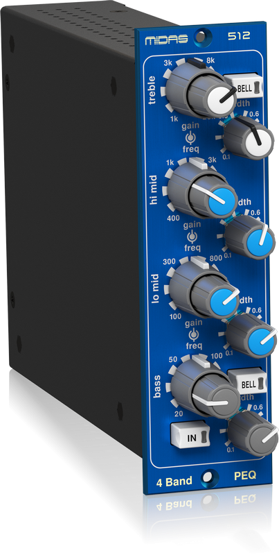 Midas Parametric equalizer 512 V2