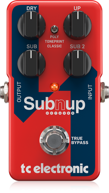 TC Electronic  SUB'N'UP OCTAVER