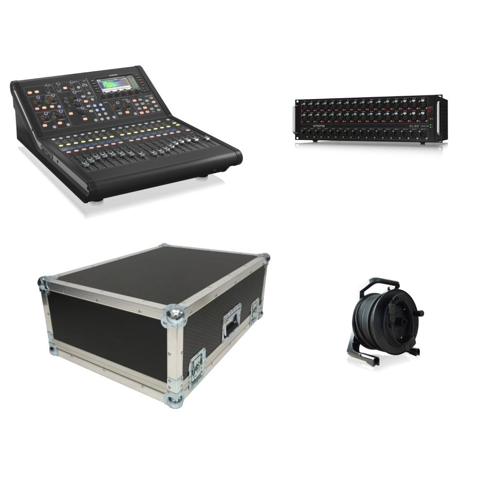 Midas M32R Live 32 Tour Bundle