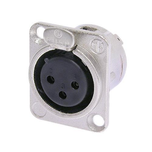 Neutrik XLR connector NC3FD-L-1