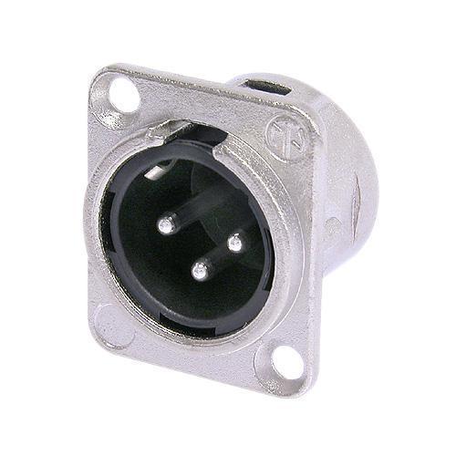 Neutrik NC3MD-L-1 xlr paneelipistik