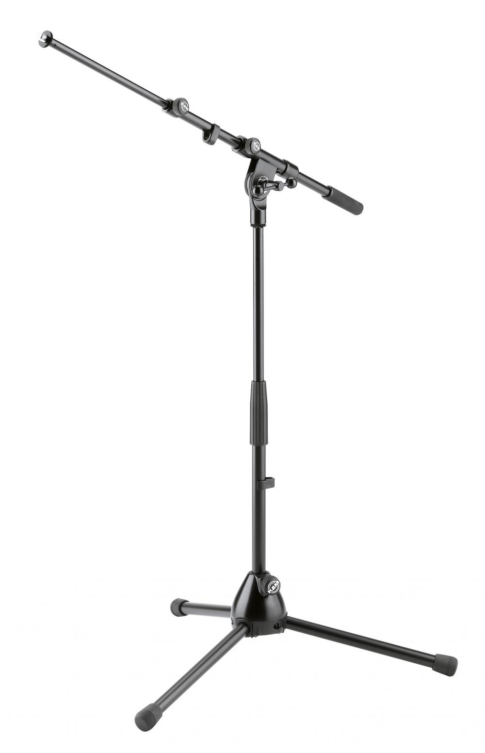 K&M 259 medium microphone stand, black