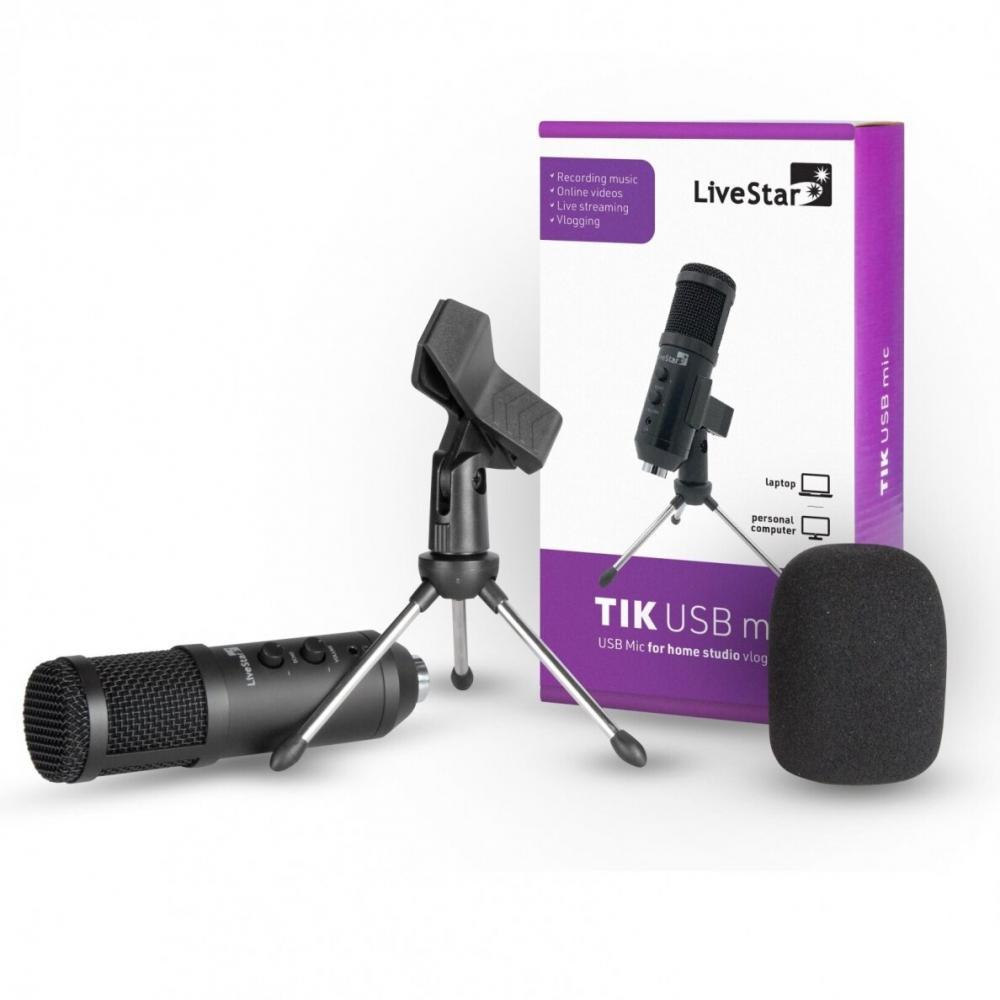 Livestar TIK USB mic