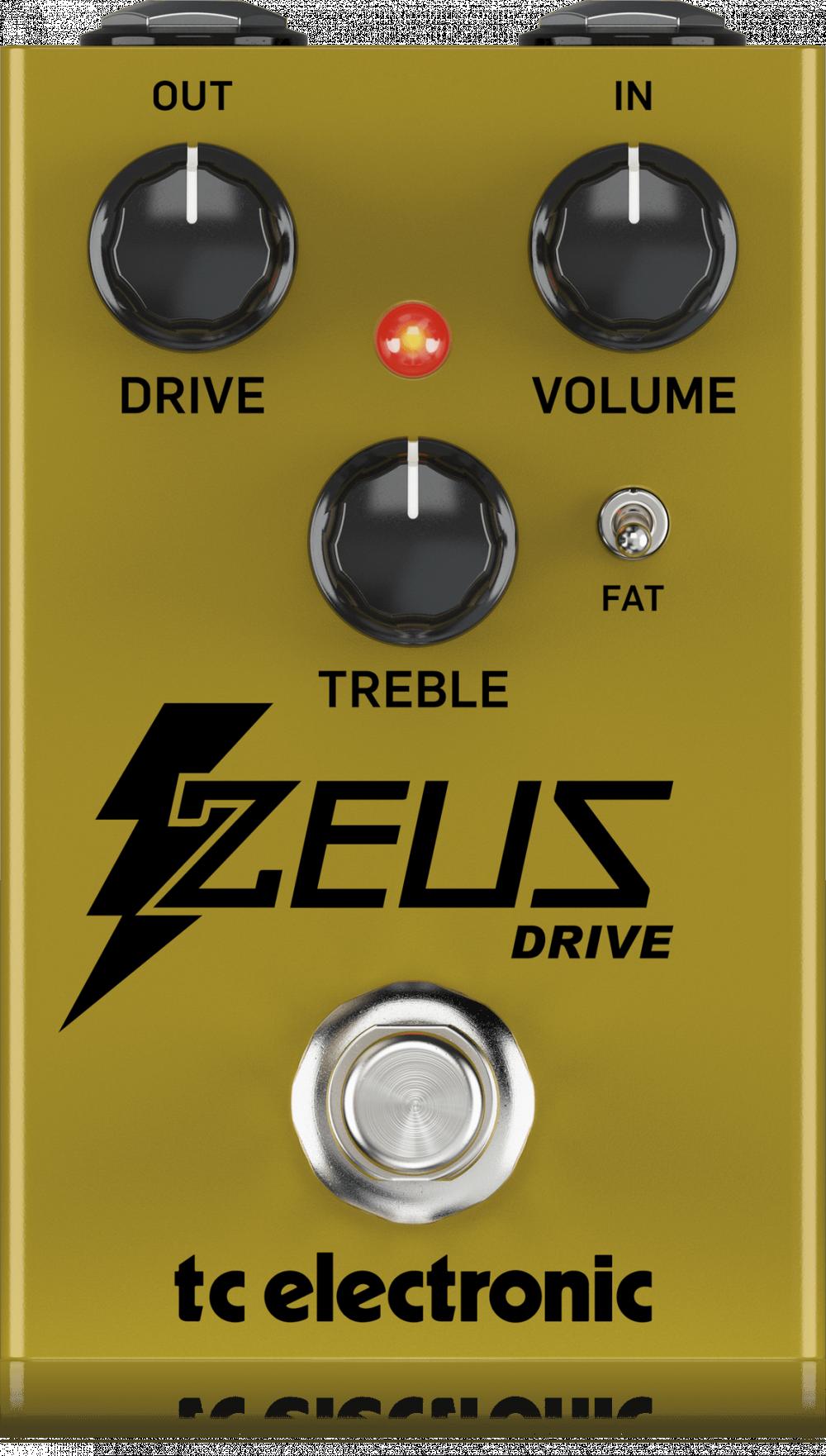 TC Electronic ZEUS DRIVE OVERDRIVE